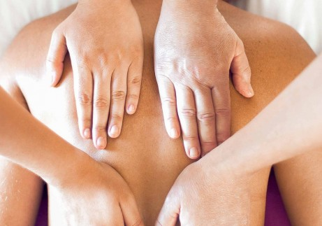Massage à 4 mains à Grenoble